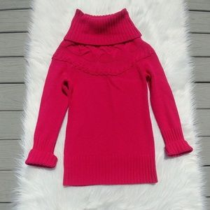 Ann Taylor LOFT Hot Pink Sweater NWT